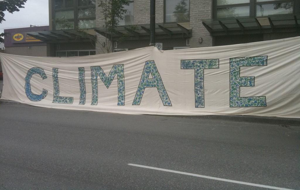 Mobilisation étudiante pour le climat