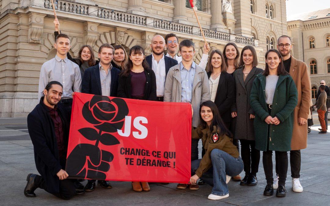 Elections Fédérales 2019 : Lancement des listes JSVR