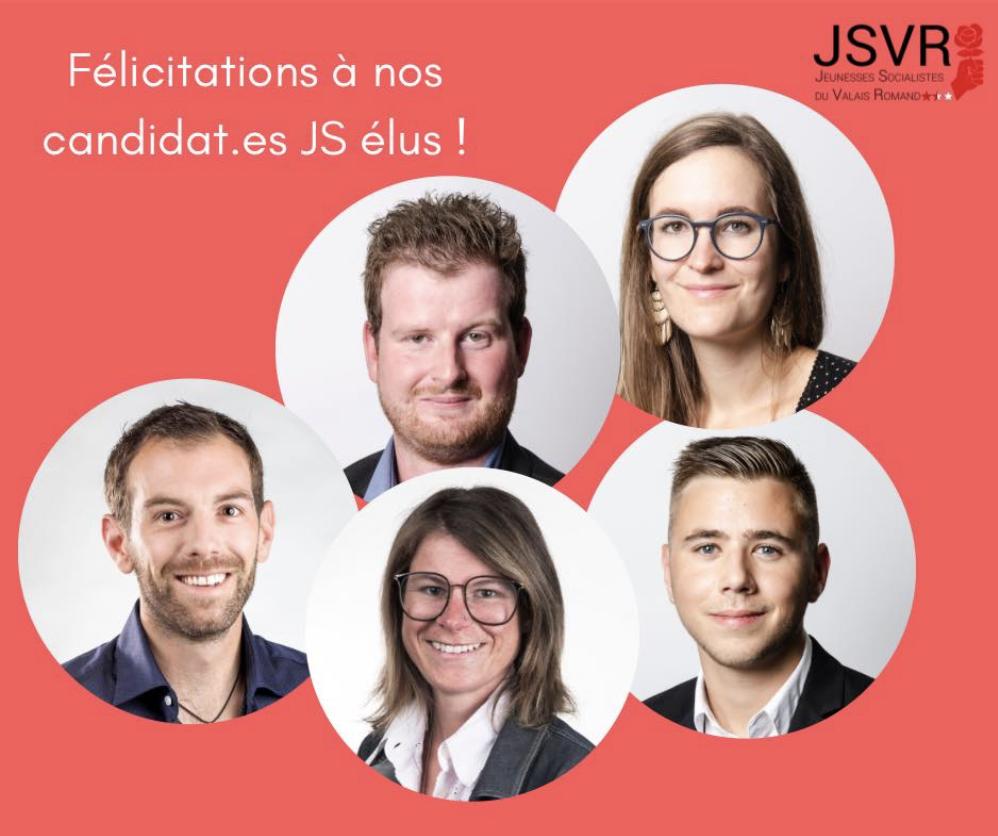 Les JSVR entrent des plusieurs Conseils Communaux !